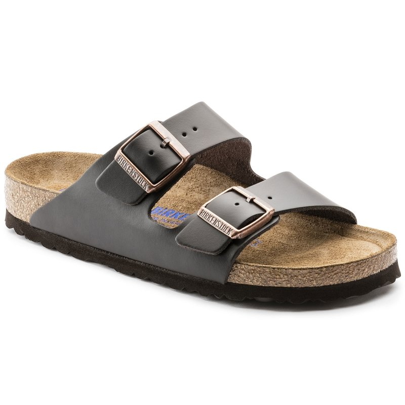 Birkenstock_Arizona Leather Soft footbed Brown_Narrow