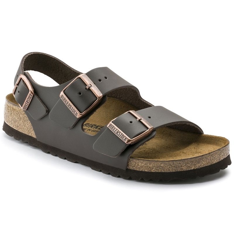 Birkenstock_Milano Dark Brown