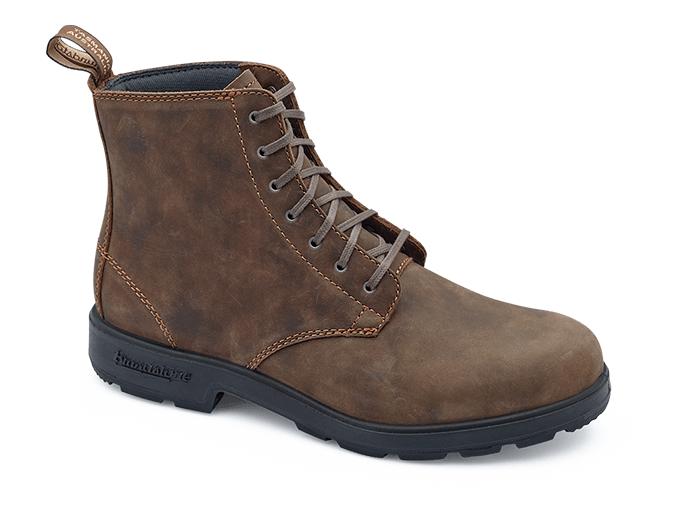 Blundstone 1450 Lace Up Rustic Brown