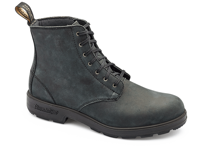 Blundstone 1451 Lace Up Rustic Black