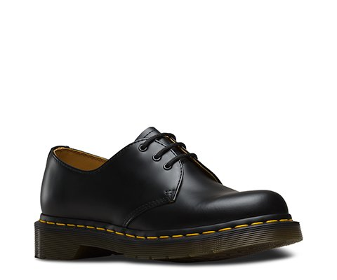 DrMartens_1461Z BLACK YELLOW STITCH
