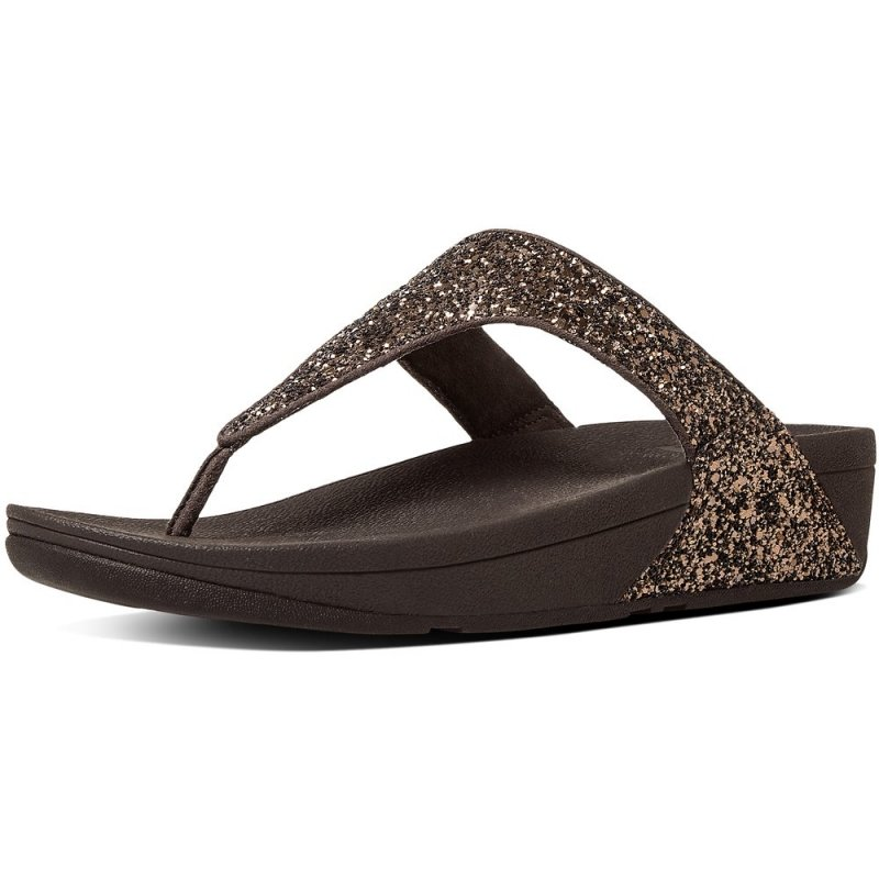 Fitflop_GLITTERBALL TOE-THONG BRONZE