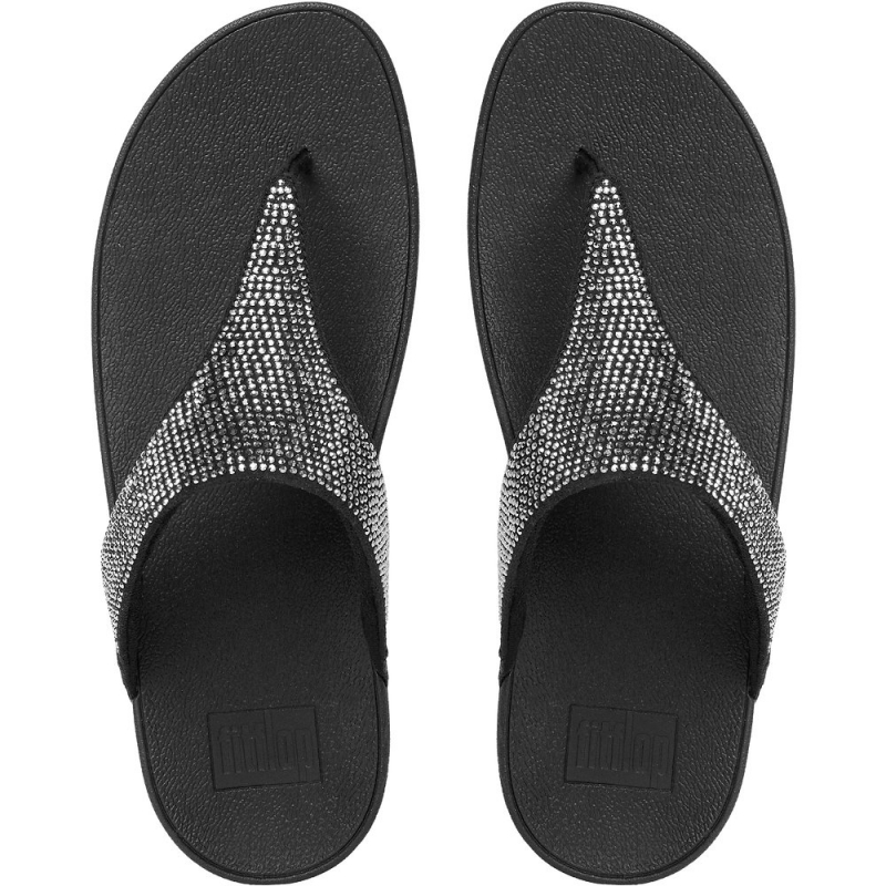 Fitflop_SLINKY ROKKIT TOE-THONG SANDALS BLACK_2