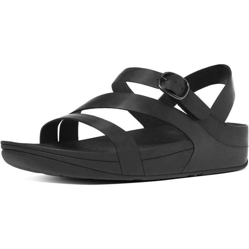 Fitflop_THE SKINNY Z-STRAP LEATHER SANDALS ALL BLACK