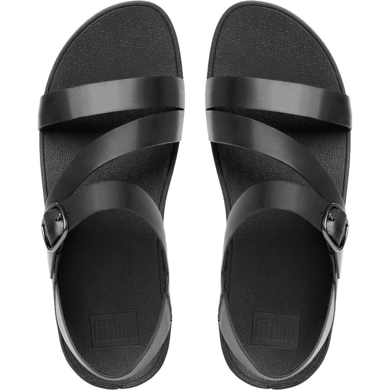 Fitflop_THE SKINNY Z-STRAP LEATHER SANDALS ALL BLACK2