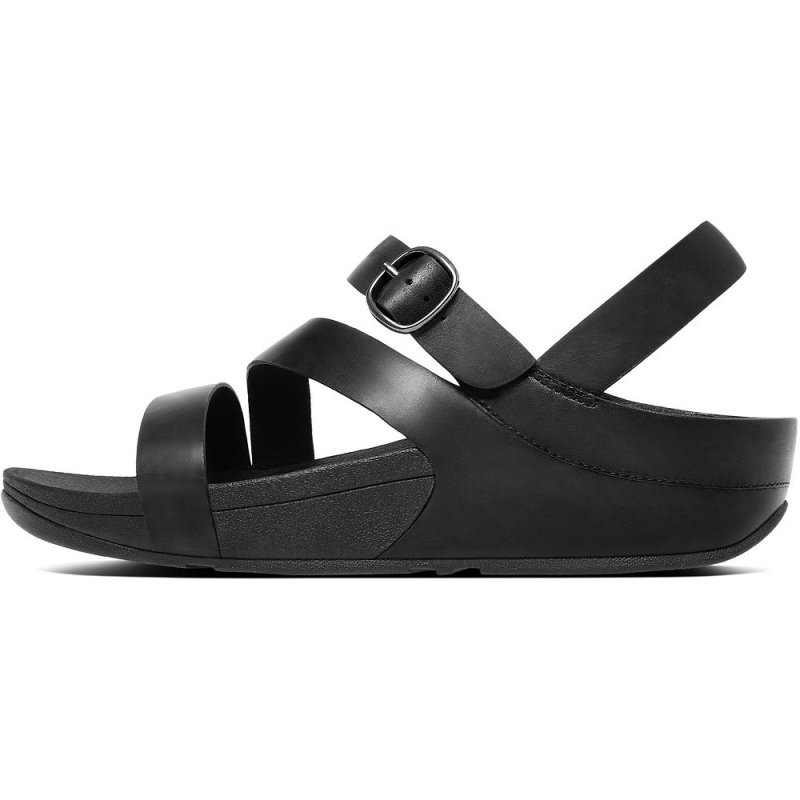 Fitflop_THE SKINNY Z-STRAP LEATHER SANDALS ALL BLACK3